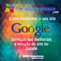 Quadrado por site no google
