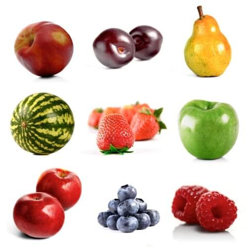 Porque do nome de frutas